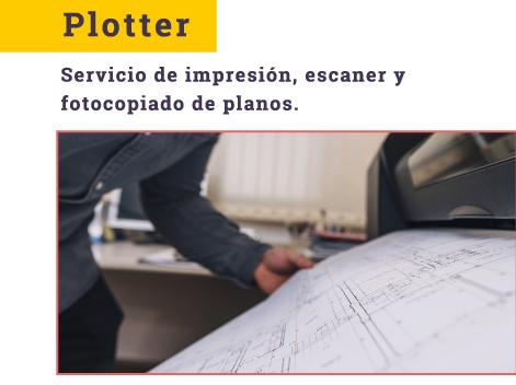 Servicio de Plotter e impresión de planos
